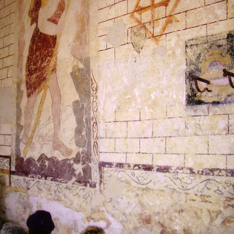 les fresques de l'église de Buicourt