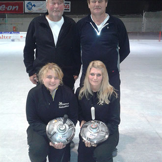FC Ottenzell Mixed: Klaus Emberger, Hermann Stillfried, Dagmar Hamann, Julia Stillfried