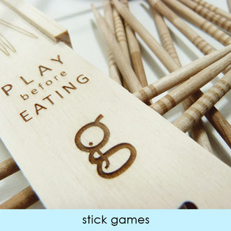 STICK GAMES - MADE IN JURA - FRANCE