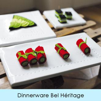 DINNERWARE - LIMOGES PORCELAIN