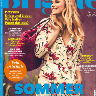 BRIGITTE MAGAZINE - HEART MIROR < GERMANY < MAY 2015