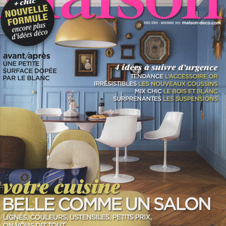 LE JOURNAL DE LA MAISON - TABLE ROMAN - OCTOBER 2012