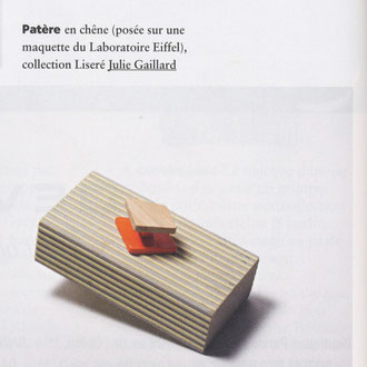 AIR FRANCE MAGAZINE - COAT PEGS - LISERE COLLECTION < JANUARY 2015