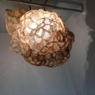 Kaffeewolke – 2016 – Installation mit Kaffee-Pads – Preis auf Anfrage