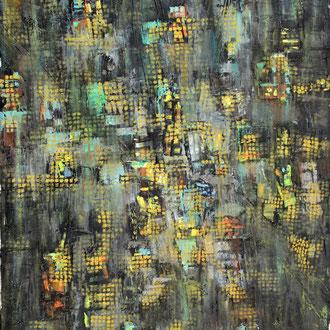 New York bei Nacht I – 2013 – Öl auf Leinwand – 45 x 35 cm – verkauft