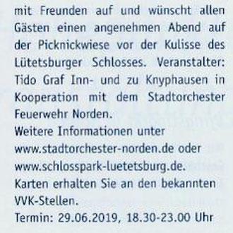 "Magazin ""Norderland"", Ausgabe Mai-Juli 2019"