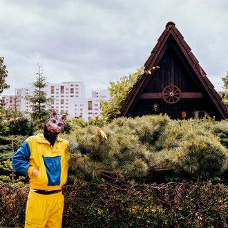 Das Märkische Viertel, fotografiert mit einer Linhof Technika, photo by Melina Johannsen