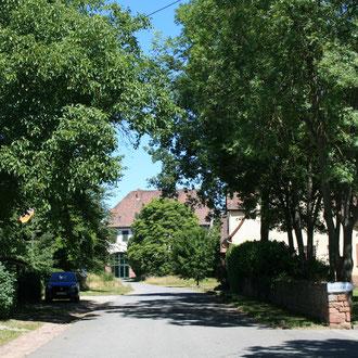Zugang zu Kirschgartshausen