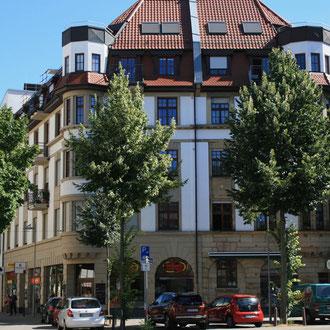 Wohn- und Geschäftshaus in der Meerwiesenstraße