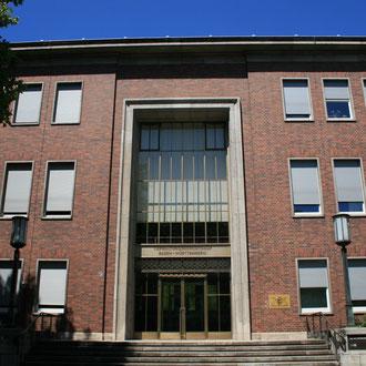 Verwaltungsgerichtshof Mannheim in der Schubertstraße