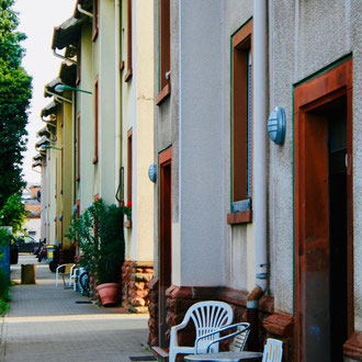 Arbeiterhäuser in der Hirtenbrunnenstraße