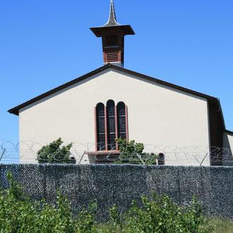 amerikanische Kirche in den Coleman Baracks, Viernheimer Weg