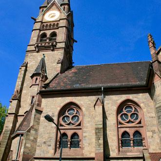 Lutherkirche in der Lutherstraße 2