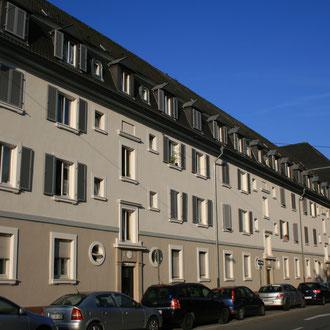 Arbeitersiedlung an der Schafweide / Käfertalerstraße