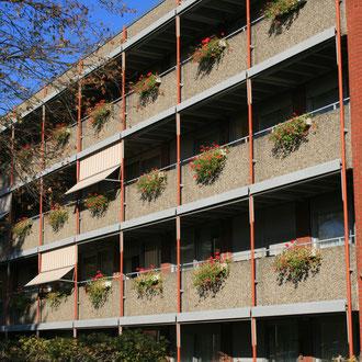 Seniorenwohnheim in der Gartenstadt