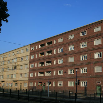 Neue Sachlichkeit rund um Weylstraße, Friedrich-Ebert-Straße und Garnisonstraße