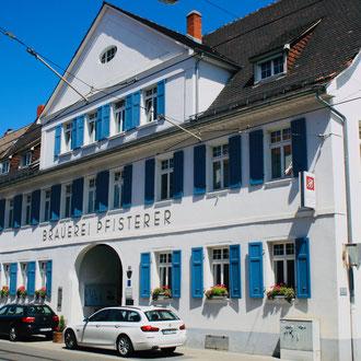 Die ehemalige Brauerei Pfisterer in der Seckenheimer Hauptstraße 114, heute Badischer Hof