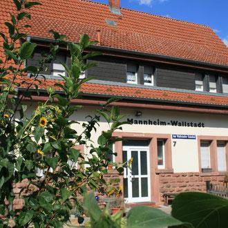 OEG-Bahnhof Wallstadt, Am Wallstadter Bahnhof