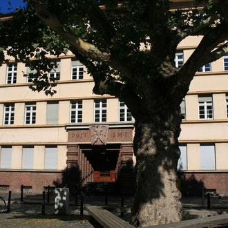 Altes Postamt auf der Schwetzingerstraße