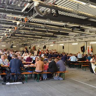 Fahnenweihe FF München Abteilung Stadtmitte / Feuerwache 4 Heßstraße 120