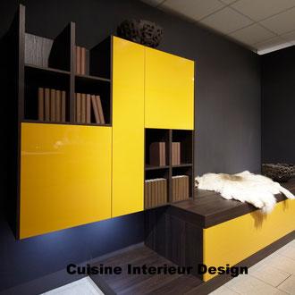 cuisine intérieur design création toulouse moderne cuisine design laque couleur mangue