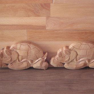 CNC gefertigte Schildkröte V1.0  / kreativ-fraesen