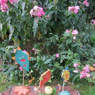 Drachen als Herbstdeko  / kreativ-fraesen