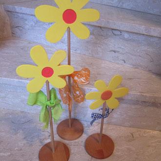 CNC gefertigte Blumen / kreativ-fraesen