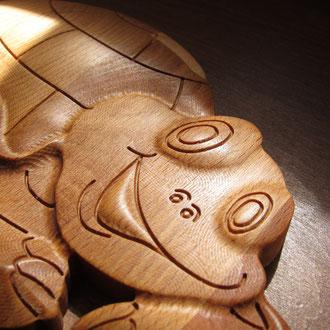 CNC gefertigte Schildkröte V2.0  (kreativ-fraesen.de)