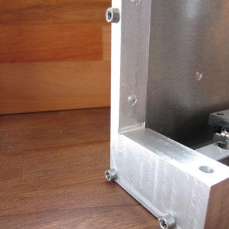 X-Achse Unterstüzung für cnc4all Fräsmaschine