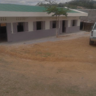 Le bâtiment livré à la rentrée 2017  (c
