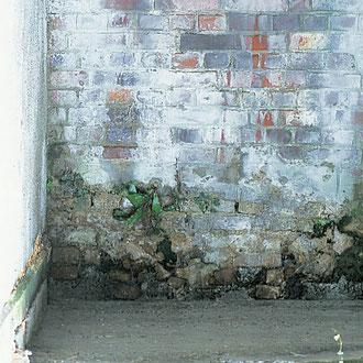 Mur de cour extérieur
