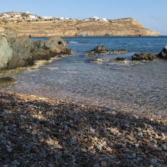 Une plage sauvage pour méditer