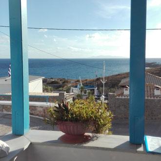 Une vue prise depuis l'Hôtel.