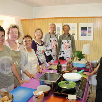Atelier de gastronomie grecque