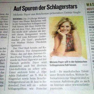 Kleine Zeitung 22. 3. 2014