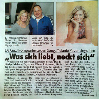 Kronen Zeitung am 21. 3. 2014
