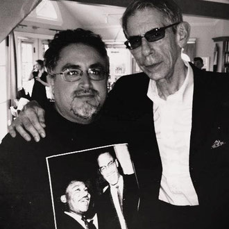 With Richard Belzer at Dick Russell's house (King Kill 63)