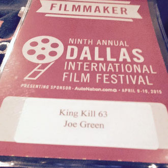 Closing the Dallas International Film Festival 2015 (King Kill 63)