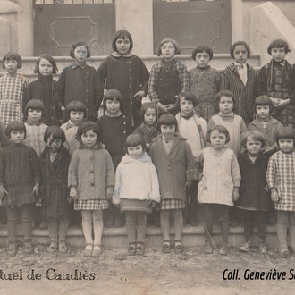 1933 Photo de classe sur l'escalier