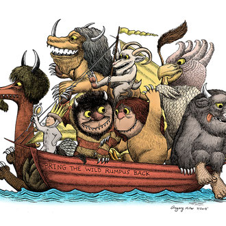 """""""Bring The Wild Rumpus Back!"""" Private Commission"""