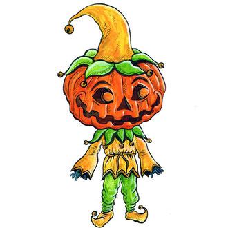 Pumpkinhead Personal Artwork