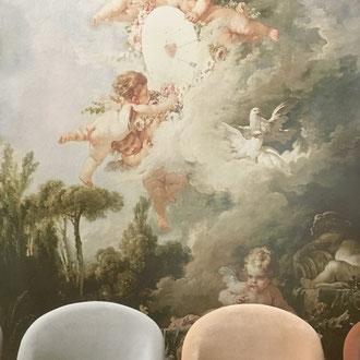 papier peint panoramique romantique