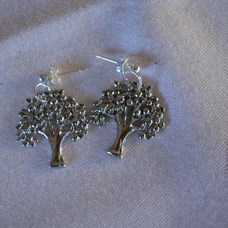Modeschmuck Ohrringe aus Metall. Design by Zeitzeugen-Manufactur. Preis: 1,80 €