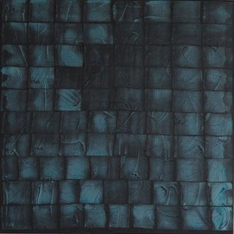 P1, 2003, Acryl/LW,  100 x 100 cm