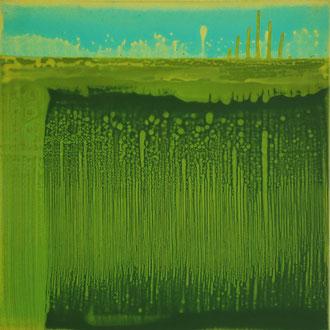 P2, 2003, Acryl/LW, 100 x 100 cm