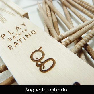 BAGUETTES MIKADO  < PLAY BEFORE EATING
