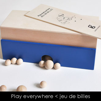 PLAY EVERYWHERE - JEU DE BILLES NOMADE