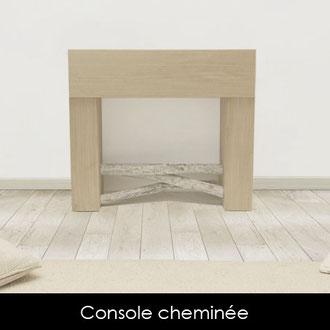 Console cheminée < Bretagne