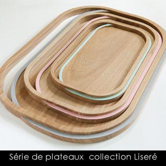 PLATEAUX COLLECTION LISERE